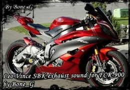 Модове Leo Vince SBK exhaust sound mod for FCR 900 by bone_G