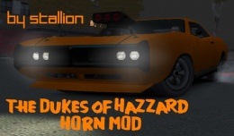 Модове the dukes of hazzard horn